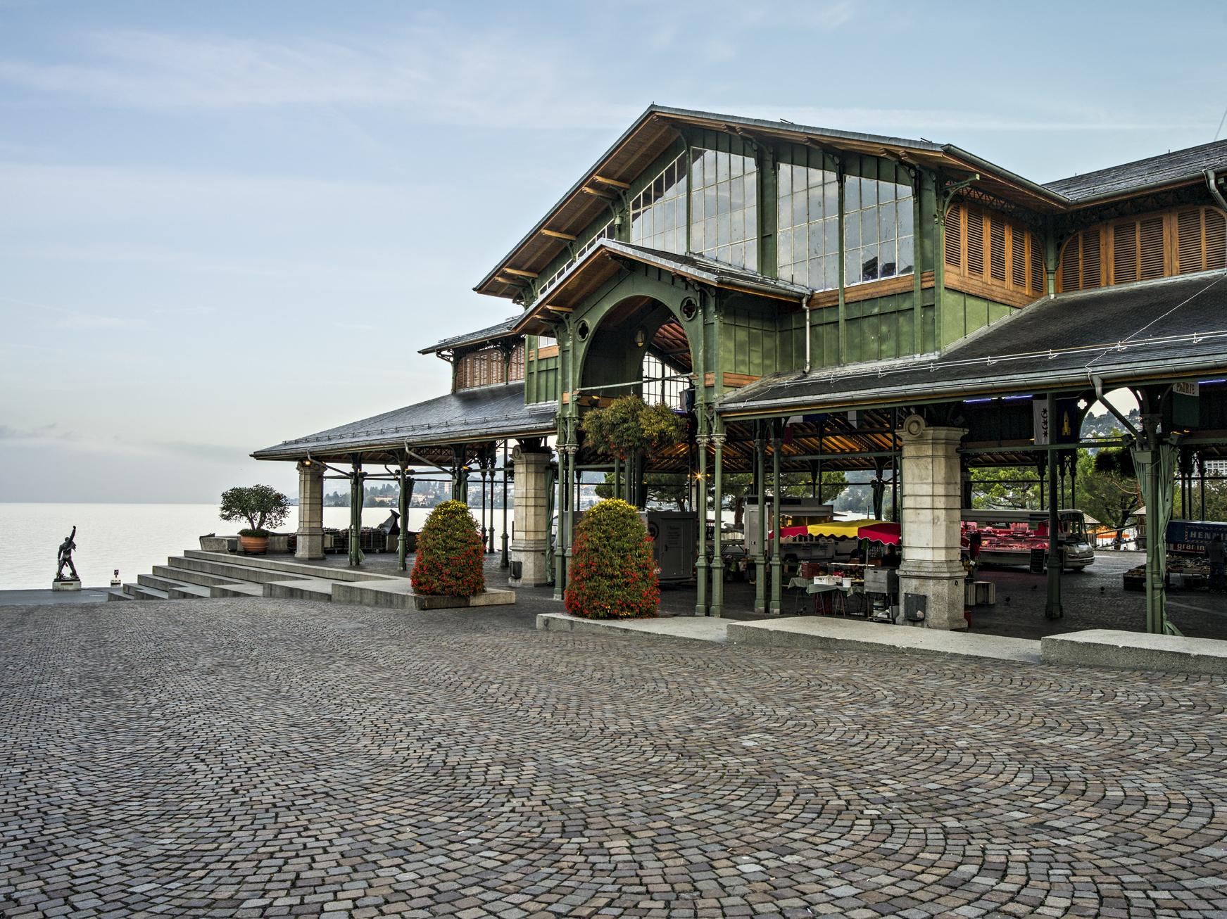 Marché couvert montreux riviera seminarhotels schweiz tourismus